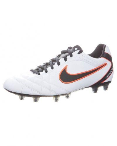Nike Performance TIEMPO FLIGHT FG Fotbollsskor fasta dobbar Vitt - Nike Performance - Konstgrässkor