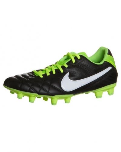 Nike Performance TIEMPO MYSTIC IV FG Fotbollsskor fasta dobbar Svart - Nike Performance - Fasta Dobbar