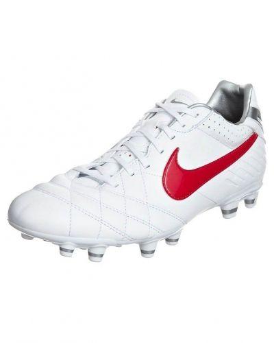 Nike Performance TIEMPO MYSTIC IV FG Fotbollsskor fasta dobbar Vitt - Nike Performance - Konstgrässkor