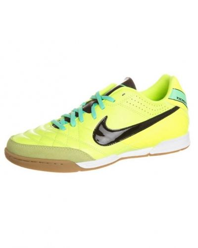 Nike Performance TIEMPO NATURAL IV Fotbollsskor inomhusskor Gult - Nike Performance - Inomhusskor