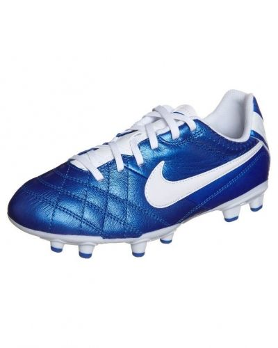 Nike Performance TIEMPO NATURAL IV LTR FG Fotbollsskor fasta dobbar Blått - Nike Performance - Fasta Dobbar