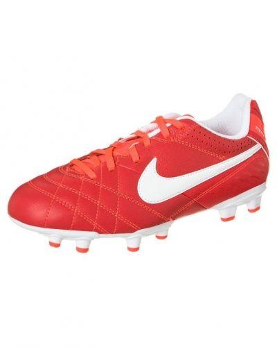 Nike Performance TIEMPO NATURAL IV LTR FG Fotbollsskor fasta dobbar Rött - Nike Performance - Fasta Dobbar
