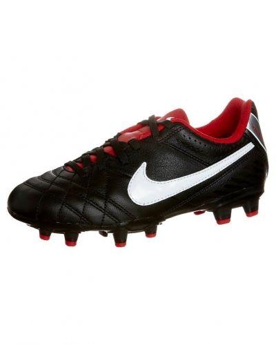 Nike Performance TIEMPO NATURAL IV LTR FG Fotbollsskor fasta dobbar Svart - Nike Performance - Fasta Dobbar