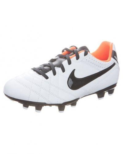 Nike Performance TIEMPO NATURAL IV LTR FG Fotbollsskor fasta dobbar Vitt - Nike Performance - Konstgrässkor