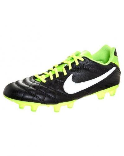 Nike Performance TIEMPO NATURAL IV LTR FG Fotbollsskor fasta dobbar Svart från Nike Performance, Konstgrässkor