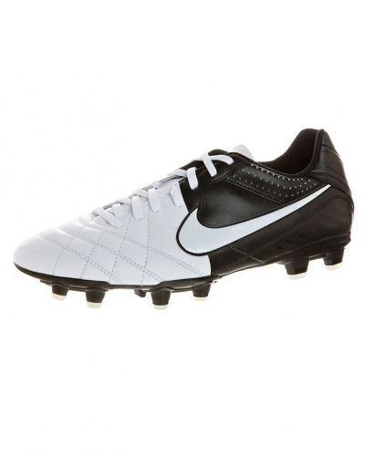 Nike Performance TIEMPO NATURAL IV LTR FG Fotbollsskor fasta dobbar Vitt - Nike Performance - Fasta Dobbar