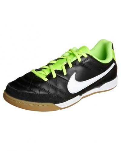 Nike Performance TIEMPO NATURAL IV LTR Fotbollsskor inomhusskor Svart - Nike Performance - Inomhusskor