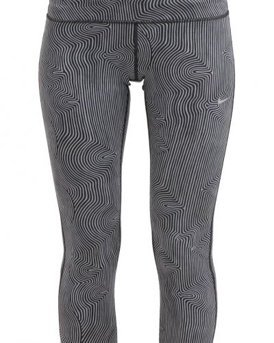 Tights cool grey/black Nike Performance träningstights till dam.