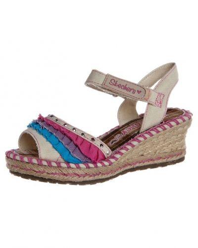Skechers TIKIS Sandaletter med kilklack Skechers sandal till tjej.