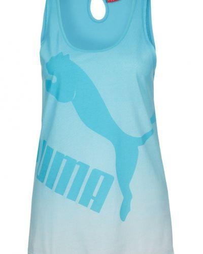 Puma Top / Linne Turkos Puma linnen till dam.