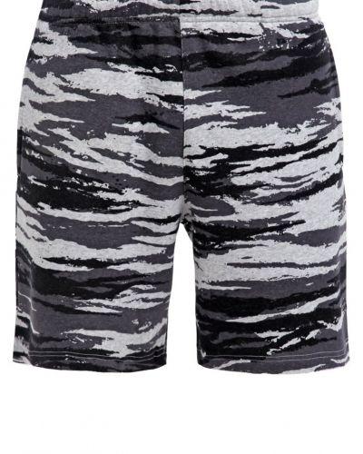 Träningsshorts mottled grey heather/black adidas Performance träningsshorts till dam.