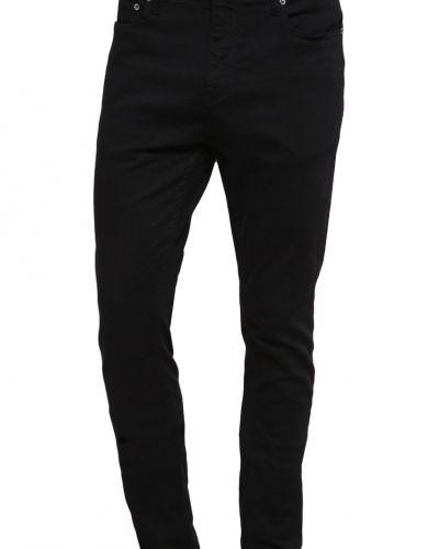 Travis jeans slim fit black rinse Samsøe & Samsøe slim fit jeans till dam.
