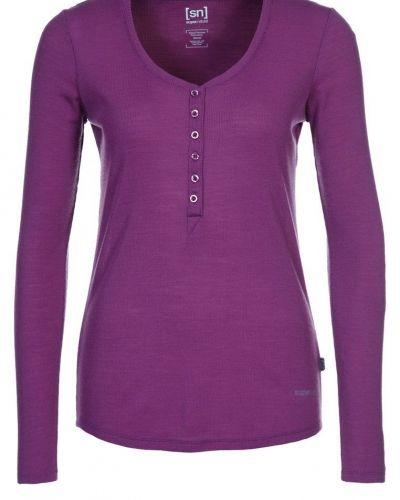 super.natural Tshirt långärmad Lila - super.natural - Långärmade Träningströjor
