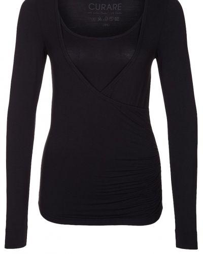 Långärmad tröja Curare Yogawear Tshirt långärmad black från Curare Yogawear