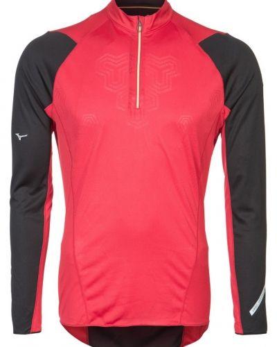 Mizuno Tshirt långärmad Rött från Mizuno, Långärmade Träningströjor