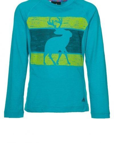 adidas Performance Tshirt långärmad Turkos från adidas Performance, Långärmade Träningströjor