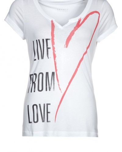 Tshirt med tryck - Esprit Sports - Kortärmade träningströjor