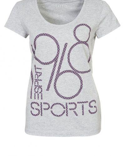 Esprit Sports Tshirt med tryck Grått - Esprit Sports - Kortärmade träningströjor