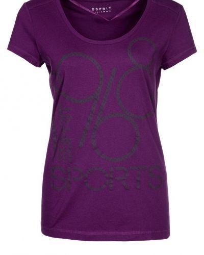 Esprit Sports Tshirt med tryck Lila - Esprit Sports - Kortärmade träningströjor