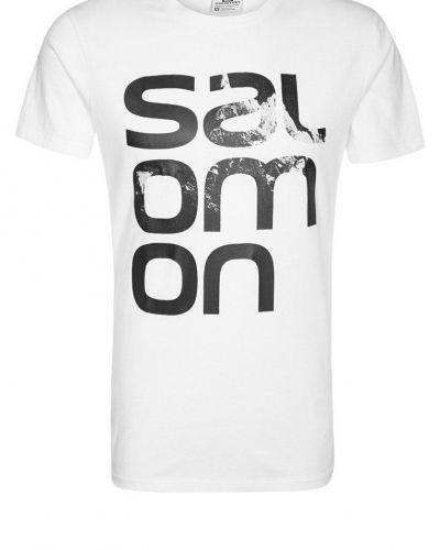 Salomon Tshirt med tryck Vitt från Salomon, Kortärmade träningströjor
