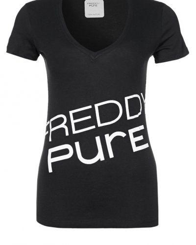 Freddy Tshirt med tryck Svart - Freddy - Kortärmade träningströjor