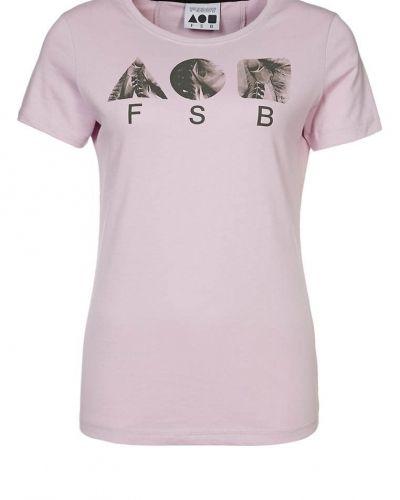 Freddy Tshirt med tryck Lila - Freddy - Kortärmade träningströjor