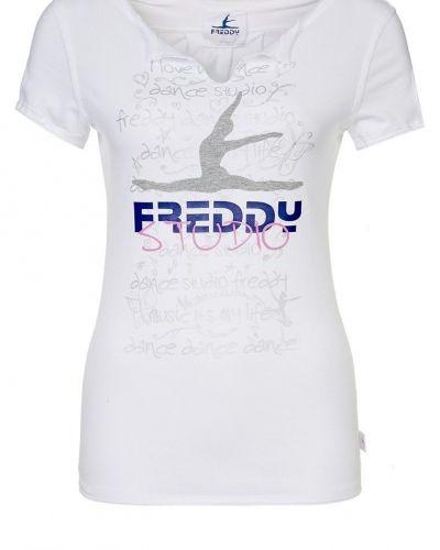 Freddy Tshirt med tryck Vitt - Freddy - Kortärmade träningströjor