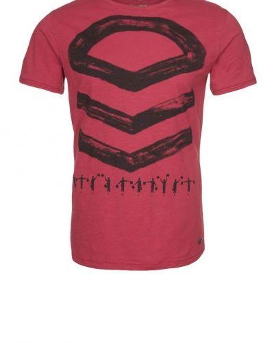Dreimaster Tshirt med tryck Rött - Dreimaster - Kortärmade träningströjor