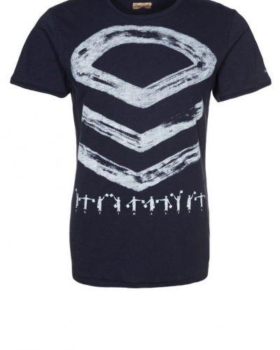 Dreimaster Tshirt med tryck Blått - Dreimaster - Kortärmade träningströjor
