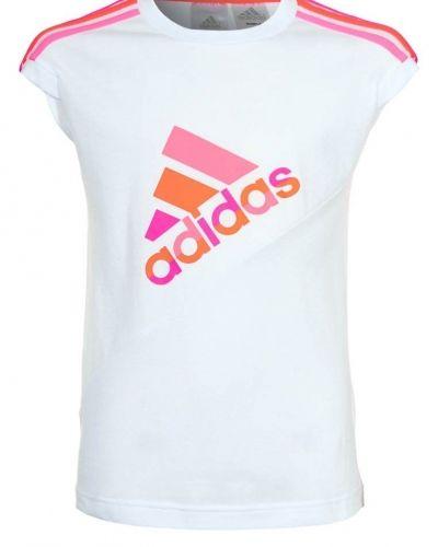 adidas Performance Tshirt med tryck Vitt från adidas Performance, Kortärmade träningströjor