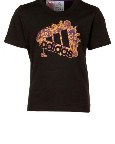 Tshirt med tryck från adidas Performance, Kortärmade träningströjor