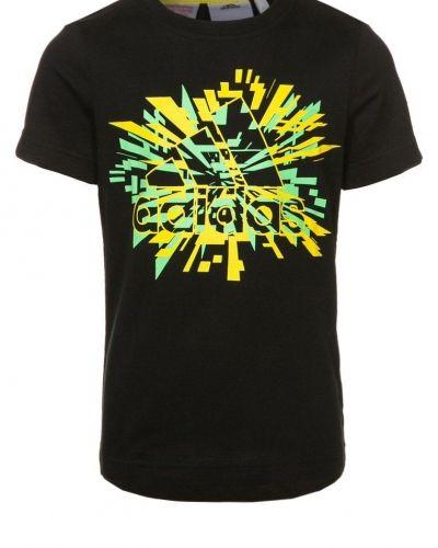 adidas Performance Tshirt med tryck Svart från adidas Performance, Kortärmade träningströjor