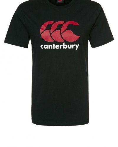 Canterbury Tshirt med tryck Svart från Canterbury, Kortärmade träningströjor