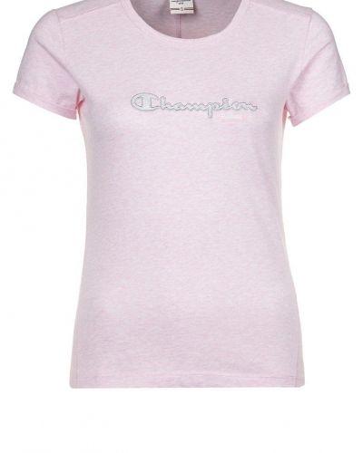 Champion Tshirt med tryck Ljusrosa - Champion - Kortärmade träningströjor