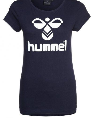 Hummel Tshirt med tryck Blått - Hummel - Kortärmade träningströjor