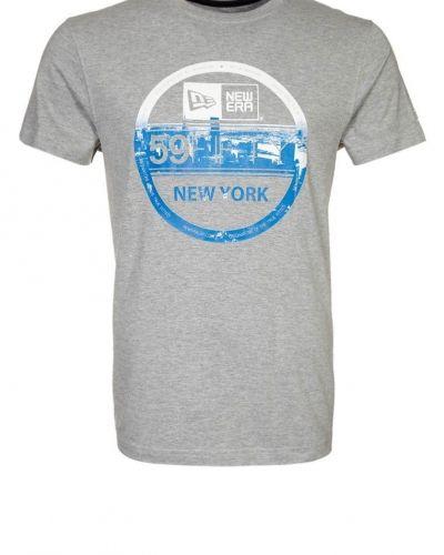 New Era Tshirt med tryck Grått - New Era - Kortärmade träningströjor