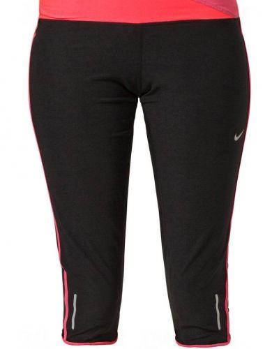 Nike Performance TWISTED CAPRI Träningsshorts 3/4längd Svart från Nike Performance, Träningsbyxor 3/4