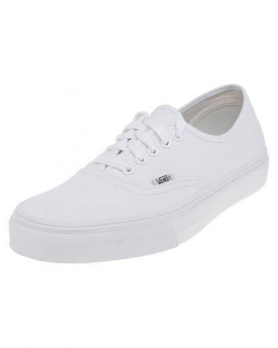 Till unisex/Ospec. från Vans, en vit sneakers.