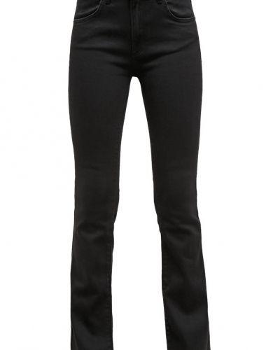 Uma jeans bootcut satin black 2ndOne bootcut jeans till tjejer.