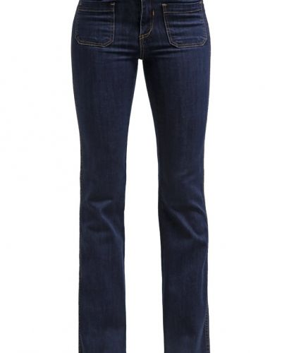 VILA Vila VICALM Jeans bootcut dark blue denim