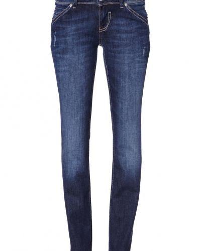 Blå straight leg jeans från Hilfiger Denim till dam.