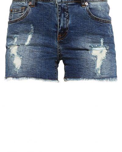 Vifear jeansshorts dark blue denim VILA jeansshorts till tjejer.