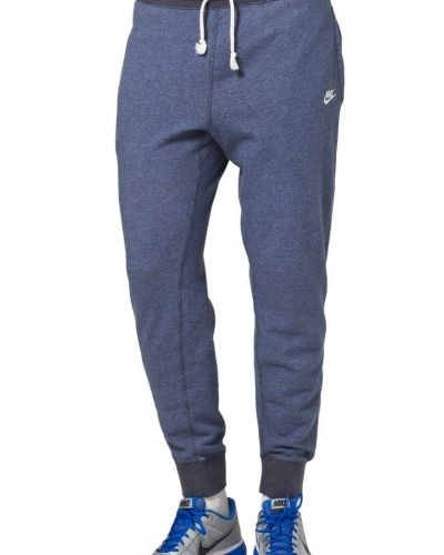 Nike Sportswear VINTAGE MARL CUFFED PANT Träningsbyxor Blått från Nike Sportswear, Träningsbyxor