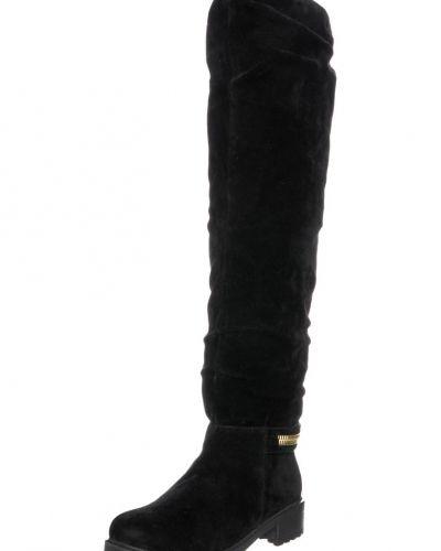 Stövlel Even&Odd Overkneeskor black från Even&Odd