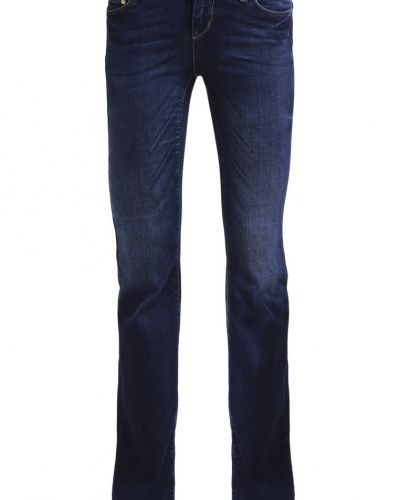 Vmbay jeans bootcut dark blue denim Vero Moda bootcut jeans till tjejer.