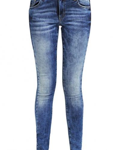 Vmfive jeans slim fit dark blue Vero Moda slim fit jeans till dam.