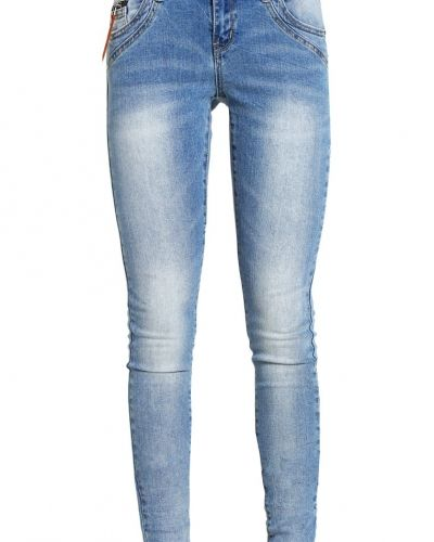Vmfive jeans slim fit light blue denim Vero Moda slim fit jeans till dam.