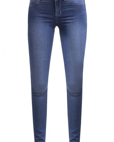Vmflexit jeans slim fit medium blue denim Vero Moda slim fit jeans till dam.
