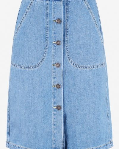 Vmliva jeanskjol light blue denim Vero Moda jeanskjol till tjejer.