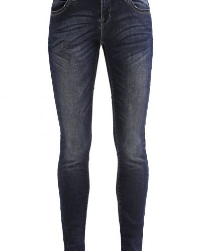 Slim fit jeans Vero Moda VMONE Jeans Skinny Fit dark blue denim från Vero Moda